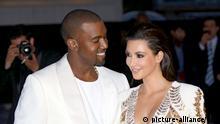 Kim Kardashian und Rapper Kanye West