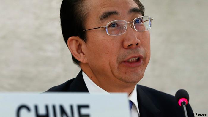 China UN Menschenrechtsrat Sitzung 22.10.2013 Genf