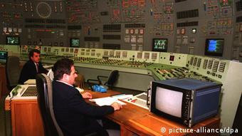 Paks control room