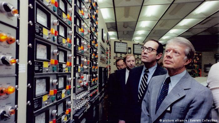 Carter 1979 Control Room Three Mile Island