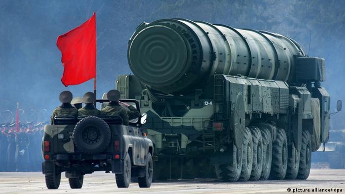 Російська ядерна ракета Тополь-М (фото з архіву)