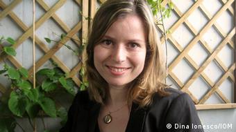 Portrait of Dina Ionesco (Foto: Dina Ionesco/IOM)