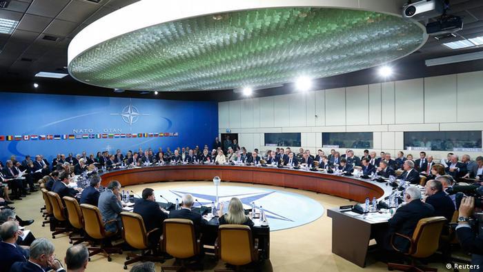 Treffen der Nato-Verteidigungsminister in Brüssel (Foto: Reuters)