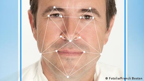 Mann Gesichtserkennung Software (Fotolia/Franck Boston)