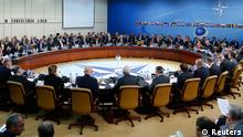 Russia's and NATO's Defence Ministers attend a NATO-Russia defence ministers council at the Alliance headquarters in Brussels October 23, 2013. REUTERS/Yves Herman (BELGIUM - Tags: POLITICS MILITARY)