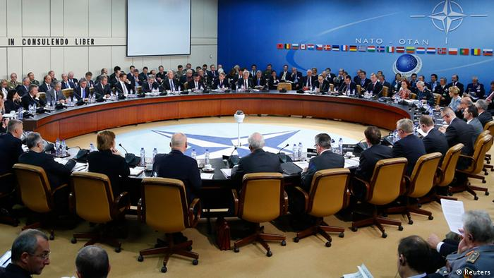 На заседании Совета НАТО - Россия в 2013 году