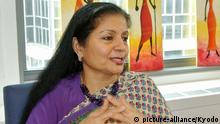 NEW YORK, United States - Lakshmi Puri, acting head of U.N. Women, is interviewed by Kyodo News in New York on May 23, 2013. (Kyodo) U.N. Women's Puri