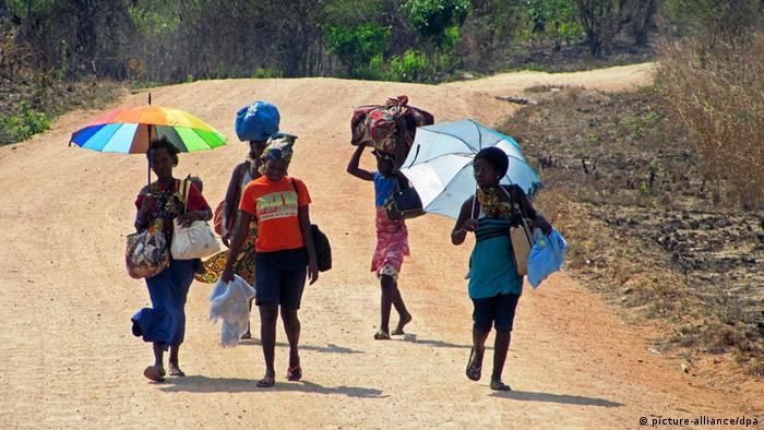 Mosambik Krise Flüchtlinge