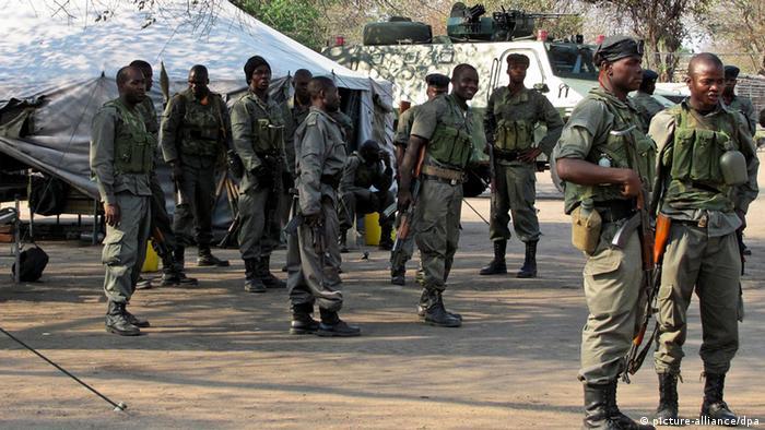 Mosambik Krise Armee Verstärkung (picture-alliance/dpa)