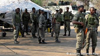 Mosambik Krise Armee Verstärkung