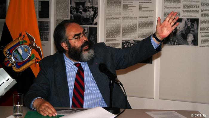 Jorge Jurado, embajador de Ecuador.