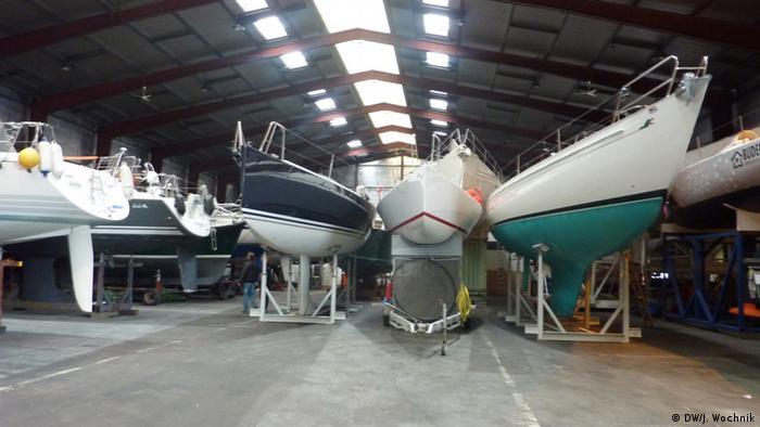 Brodovi u brodogradilištu
