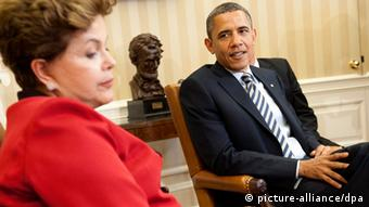 Dilma Rousseff und Barack Obama Archiv 2012 in Washington