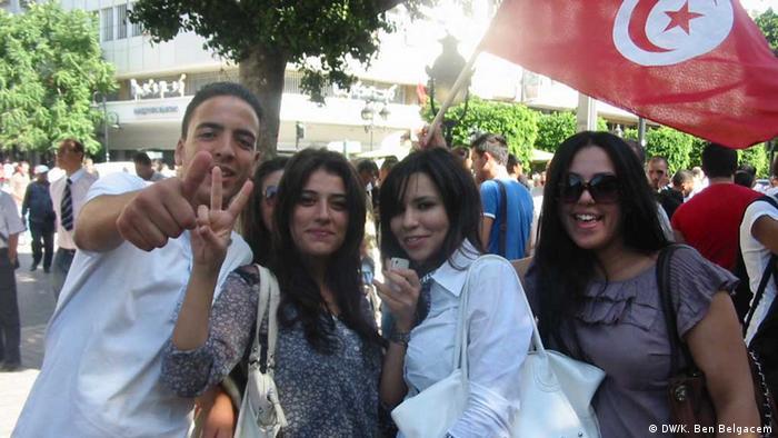 Jugend/Aktivisten und nationaler Dialog in Tunesien
