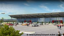 Photo 1: Prishtina International Airport Adem Jashari, photo official website public domain.