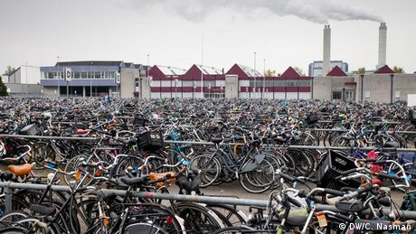 Bikes at Amsterdam's Fietsdepot (photo: Carl Nasman)