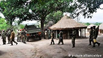 Mosambik Militär