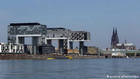 Rhine bank in Cologne (picture-alliance/dpa)