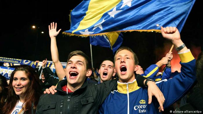 Fußball Länderspiel Bosnien-Herzegovina Lithauen
