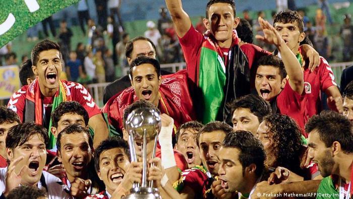 Fußball Länderspiel Indien - Afghanistan