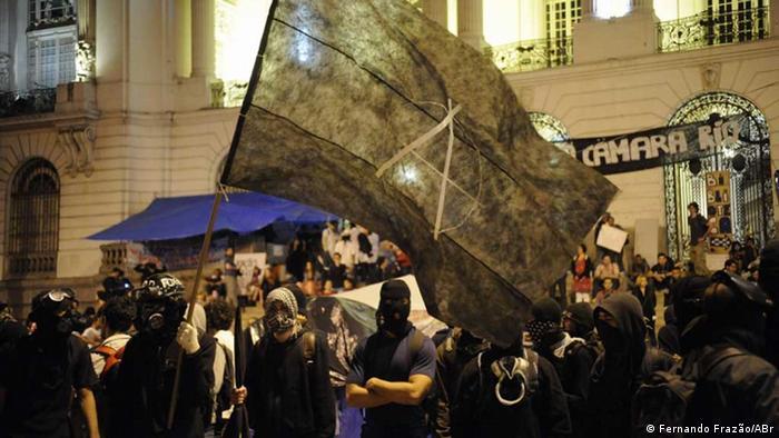 Black Blocs in Brasilien