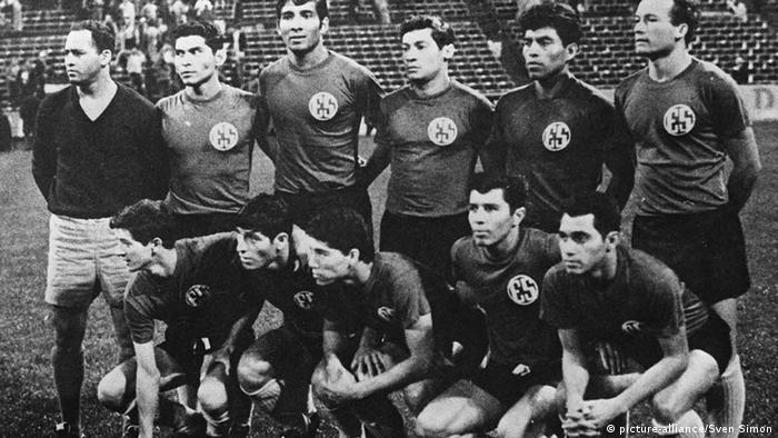 Fußball Länderspiel El Salvador - Honduras löst Fußballkrieg aus