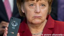 Bundeskanzlerin Merkel NSA Überwachung Handy