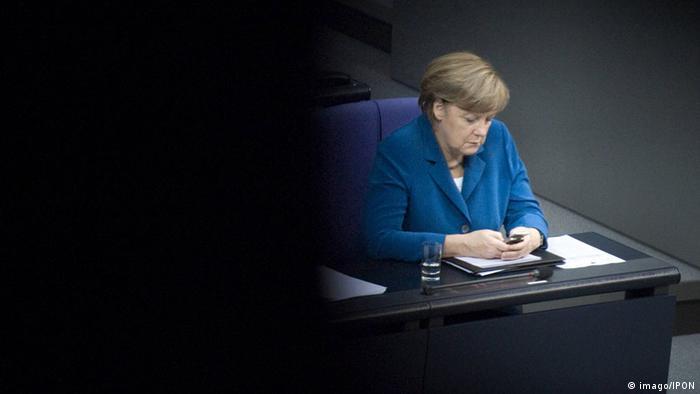 Bundeskanzlerin Merkel NSA Überwachung Handy (imago/IPON)