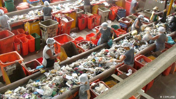 Abfalltrennung in Rio de Janeiro