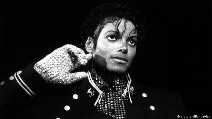 Popstar Michael Jackson 1984