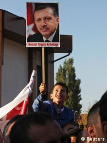 Recep Tayyip Erdogan Besuch im Kosovo