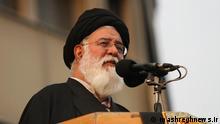 Titel: Ahmad Alamolhoda Beschreibung: iranischer Geistlicher und Mitglied des Expertenrates. Lizenz: mashreghnews.ir (http://www.mashreghnews.ir/files/fa/news/1392/4/29/371429_244.jpg ) Zulieferer: Pedram Habibi