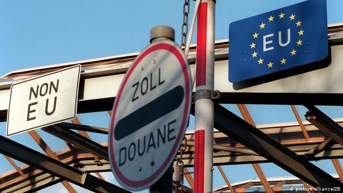 Grenzen in Europa