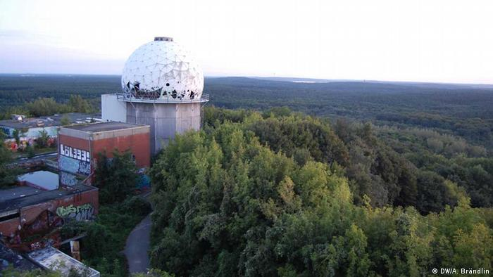 Teufelsberg Berlin Photo: Anne-Sophie Brändlin,