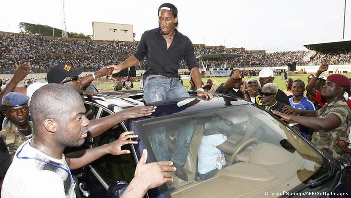 Didier Drogba Fußballspieler Archivbild 2007