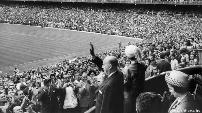 Diktator Franco Fußballspiel 1964