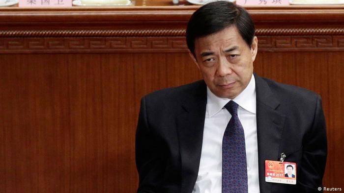 China Bo Xilai Prozess ARCHIV 10. März 2011