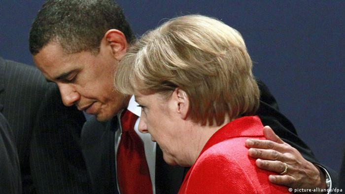 آیا باراک اوباما به نگرانیهای کشورهای اروپایی پایان خواهد داد؟ آنگلا مرکل و باراک اوباما در دوران دوستی و همدلی