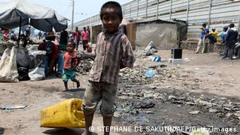 Child in poverty in Madgascar