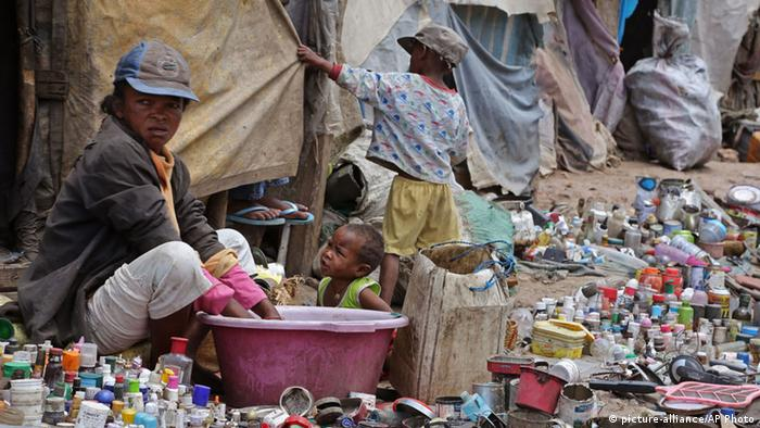 Symbolbild: Armut in Madagaskar (Foto: ap)