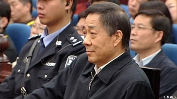 China Bo Xilai Prozess 25. Oktober 2013 (Reuters)