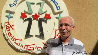 Senior Christian representative Gebrail Kourie Bild: Karlos Zurutuza, DW Mitarbeiter, Syria, Oktober 2013