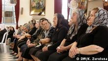 Holding mass in Qamishli Bild: Karlos Zurutuza, DW Mitarbeiter, Syria, Oktober 2013