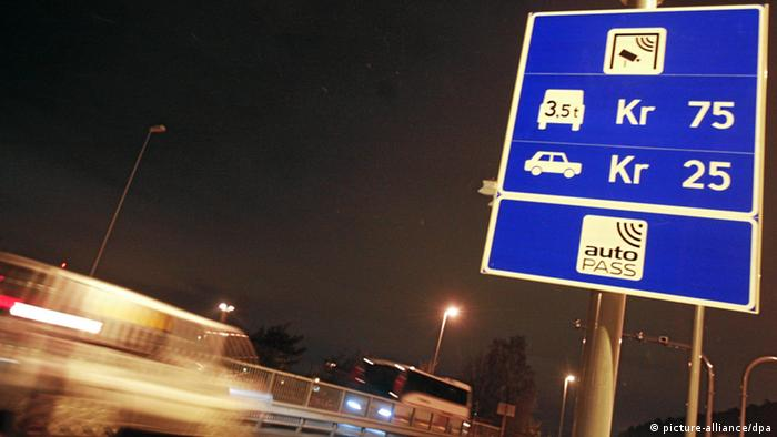 Congestion charge station at Mosseveien E18, Oslo. Filephoto: 20081211. Photo: Hans O. Torgersen / SCANPIX