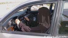 Frau fährt in Saudi-Arabien Archiv 2005