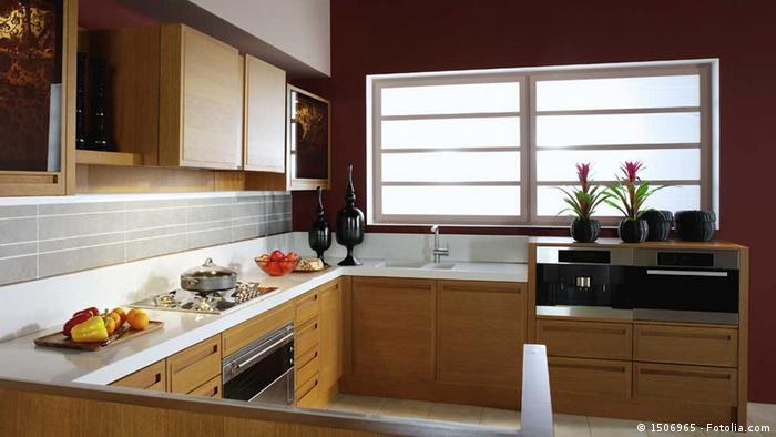 Modern kitchen unit