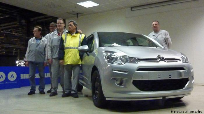Letzter Citroën im PSA-Werk Aulnay-sous-Bois vom Band gerollt