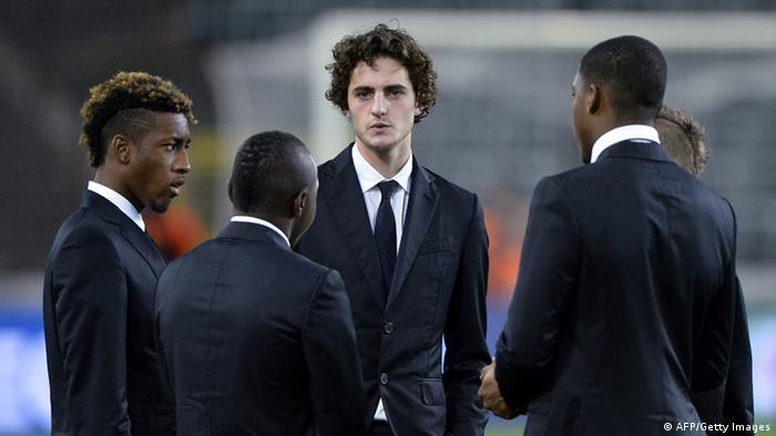Frankreich Fußballspieler Streik