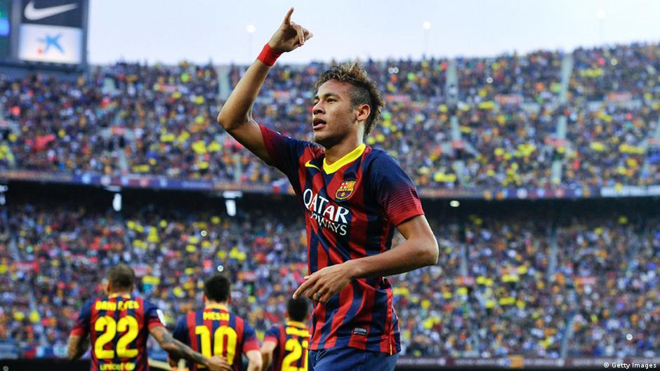 neymar vs real madrid 2013