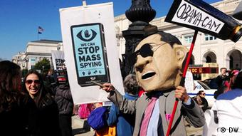 Anti-NSA Demonstration
